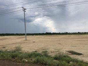 更地が進む村の現状